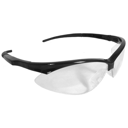 Image for Outback Shooting Glasses Clear Lens Black Frame