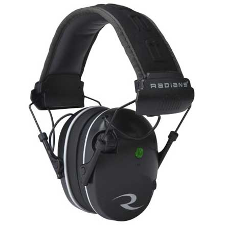R-Series R-3200 Dual Mic Black and Gray Earmuff