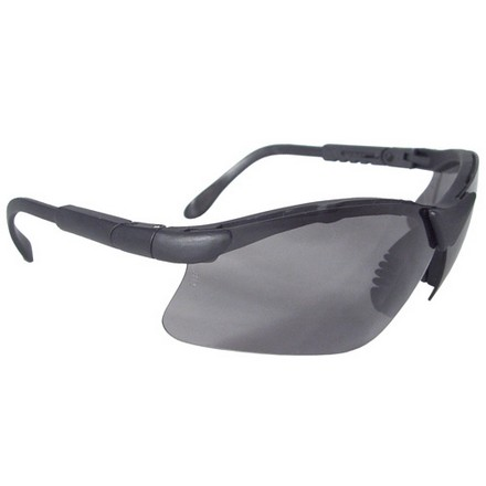 Revelation Shooting Glasses Dark Smoke Lens With Adjustable Frame