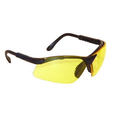 Revelation Shooting Glasses Amber Yellow Lens With Adjustable Frame