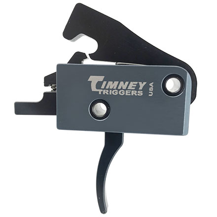 The Impact AR Trigger for AR-15 with Solid Trigger Face 3-4 LB
