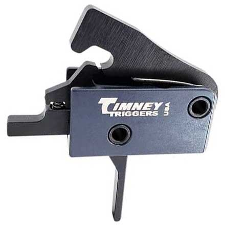 The Impact AR Trigger for AR-15 with Solid Trigger Face Straight 3-4 LB