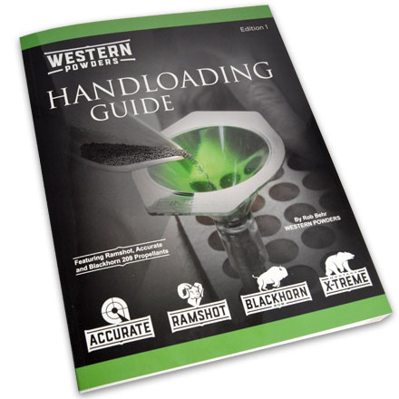 Western Powders Handloading Guide 1st Edition (Reloading Manual for  Ram-Shot and Accurate Powders)