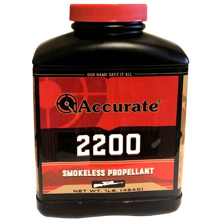 Accurate 2200 Smokeless Powder (1 Lb)