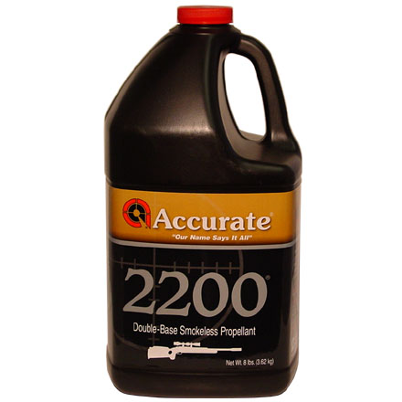 Accurate 2200 Smokeless Powder 8 Lbs