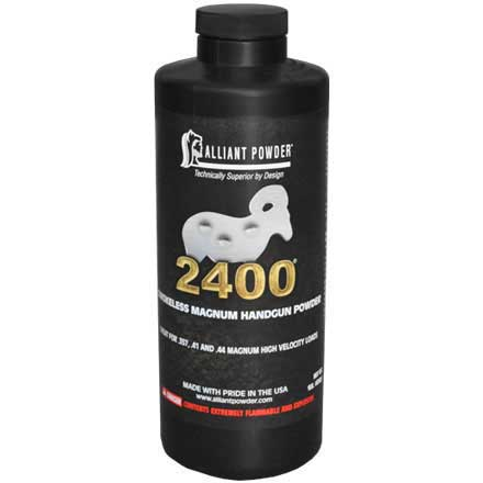 Alliant 2400 Smokeless Pistol Powder 1 Lb