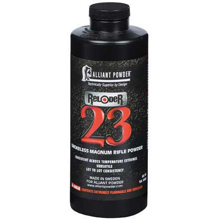Alliant Reloder 23 Smokeless Powder 1 Lb