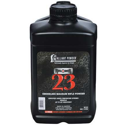 Alliant Reloder 23 Smokeless Powder 8 Lb