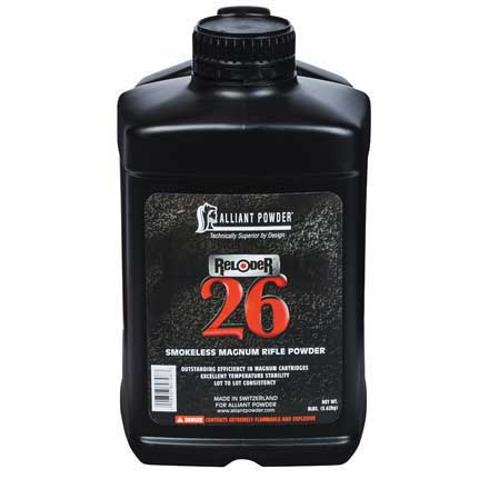 Alliant Reloder 26 Smokeless Powder 8 Lb