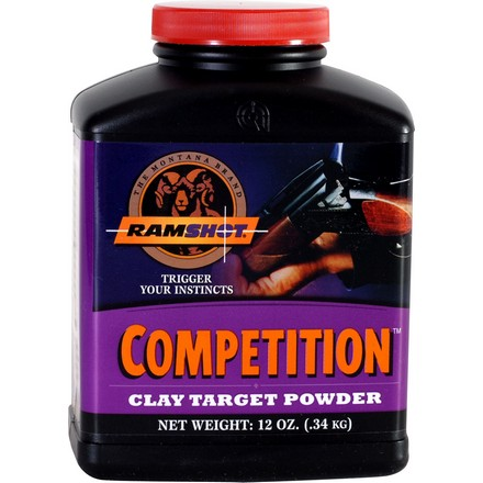 Ramshot Competition Smokeless Shotshell Powder (12 Oz)