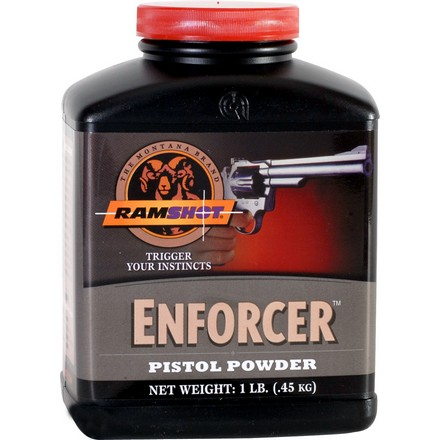 Ramshot Enforcer Smokeless Handgun Powder (1 Lb)
