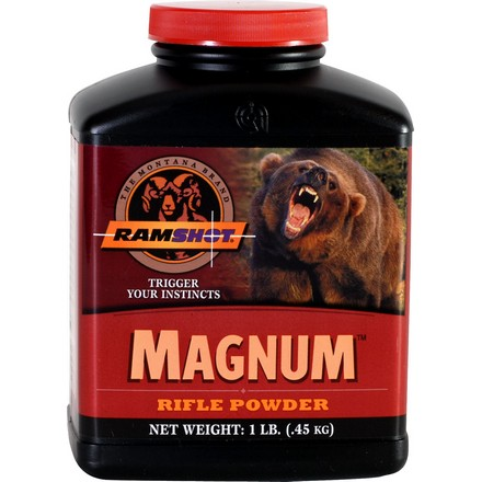 Ramshot Magnum Smokeless Rifle Powder (1 Lb)