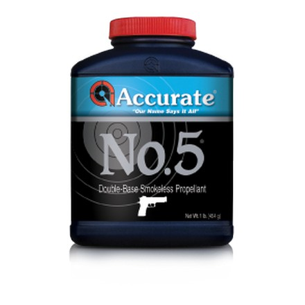 Accurate No. 5 Smokeless Powder (1 Lb)