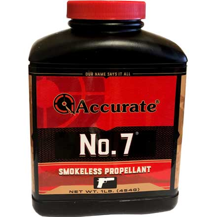 Accurate No. 7 Smokeless Powder (1 Lb)