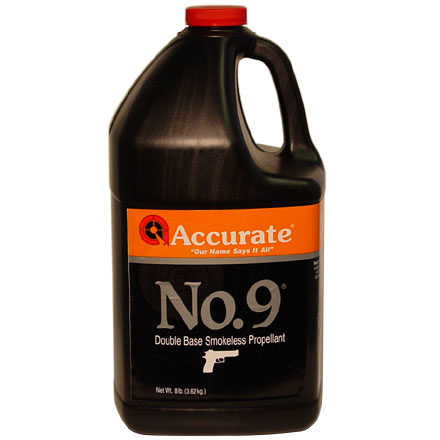 Image for Accurate No. 9 Smokeless Powder (8 Lbs)
