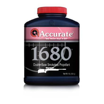 Accurate No. 1680 Smokeless Powder (1 Lb)