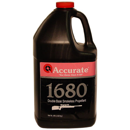 Accurate No. 1680 Smokeless Powder (8 Lbs)