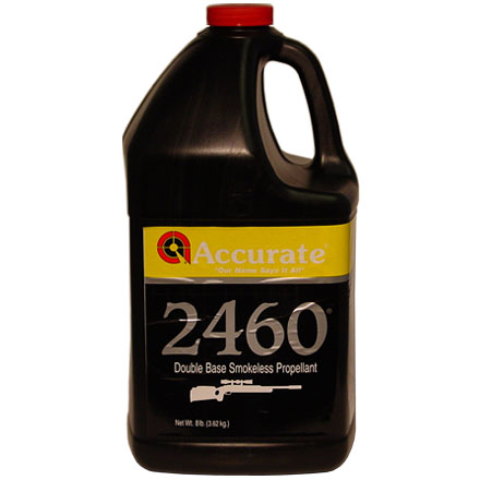 Accurate No. 2460 Smokeless Powder (8 Lbs)