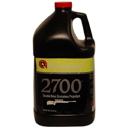 Accurate No. 2700 Smokeless Powder (8 Lbs)