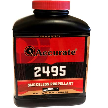 ' alt='Accurate No. 2495 Smokeless Powder (1 Lb)' />
