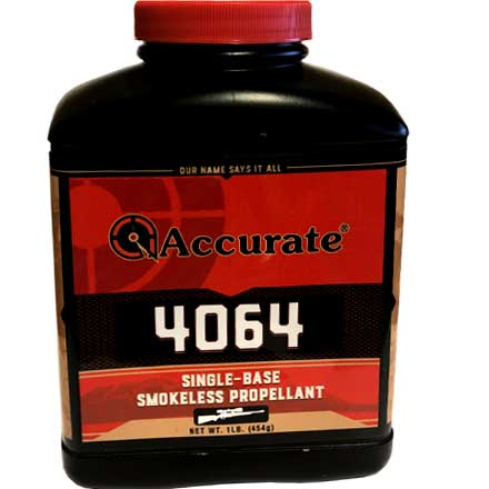 ' alt='Accurate No. 4064 Smokeless Powder (1 Lb)' />