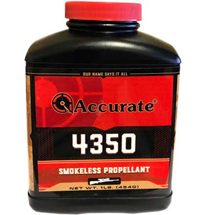 Accurate No. 4350 Smokeless Powder (1 Lb)