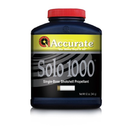 Image for Accurate Solo 1000 Smokeless Powder (12 oz)