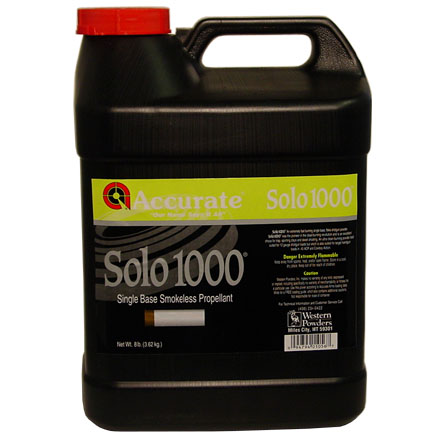 Accurate Solo 1000 Smokeless Powder (8 Lbs)