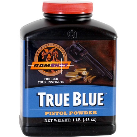 Ramshot True Blue Smokeless Handgun Powder (1 Lb)
