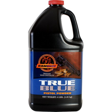 Ramshot True Blue Smokeless Handgun Powder (4 Lbs)