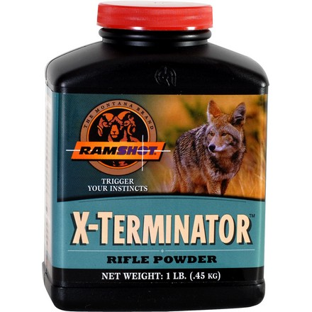 Ramshot X-Terminator Smokeless Rifle Powder (1 Lb)