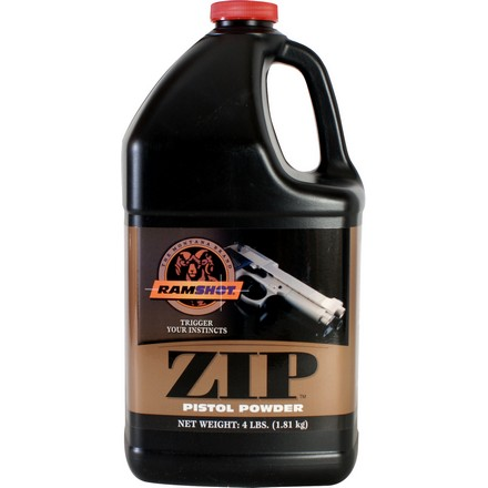 Ramshot Zip Smokeless Handgun Powder (4 Lbs)