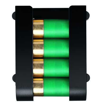Image for SafariLand 4 Round Shotgun Shell Holder (With Belt Clip)