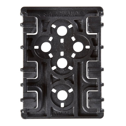 Safariland ELS Equipment Locking Plate - Black (2 pack)