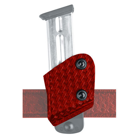 SafariLand Competition Left Hand Red Open Top Magazine Holster Includes ELS 34/35 Locking System