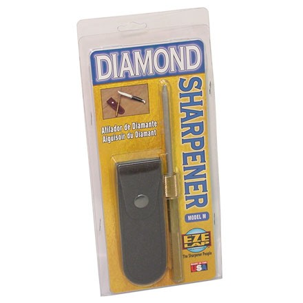 "Image for Model M Round Diamond Sharpener 3-3/4"" With Sheath"