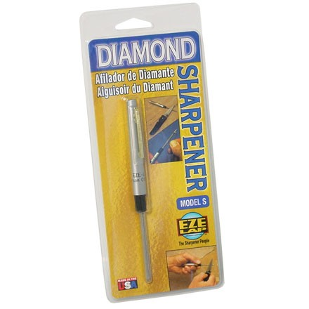 Image for Model S Round Diamond Sharpener With Fishhook Groove 5.5""