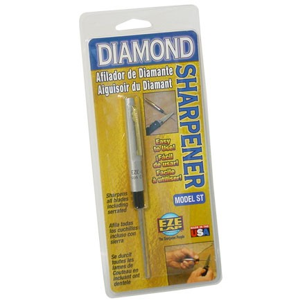 Model ST Round Diamond Sharpener With Taper For Serrated Blades