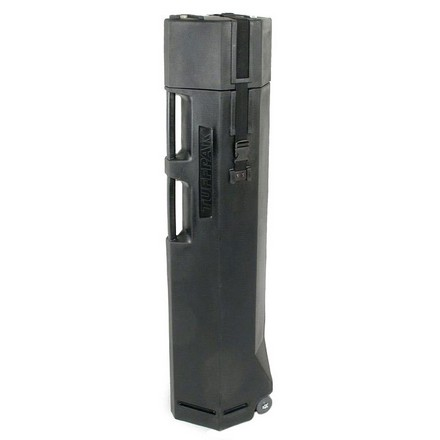 TUFFPAK MULTI-GUN MOLDED CASE  BLACK 1-5 GUNS, TSA APPROVED  LOCK & GEAR  52