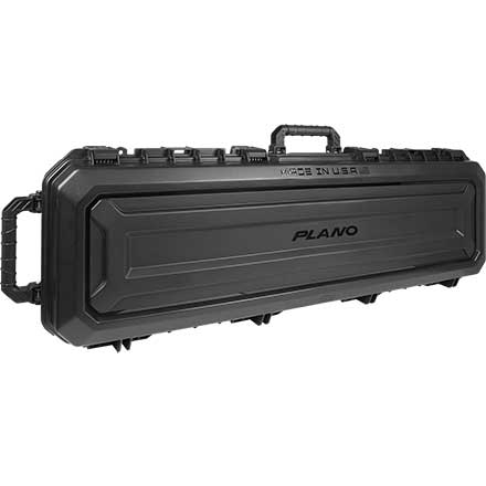 Double Scoped Rifle Case With Wheels & Dri-loc Seal 52""
