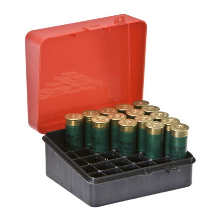 25 Round Shotshell Ammo Box 12 and 16 Gauge