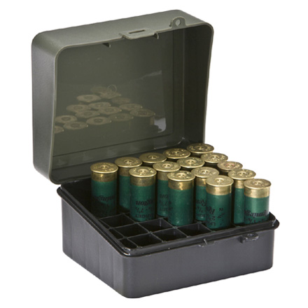 25 Round Shotshell Ammo Box 12 Gauge 3-1/2