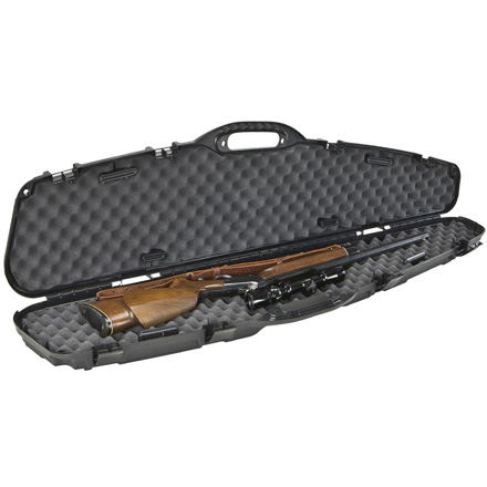 Pro-Max Pillarlock Single Scoped Gun Case Black 53.63x13x3.75