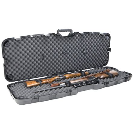 Pro-Max Pillarlock Double Gun Case Black 53.88x5.63