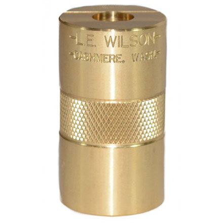 L.E. Wilson Brass Cartridge Case Gage 6.5x47 Lapua