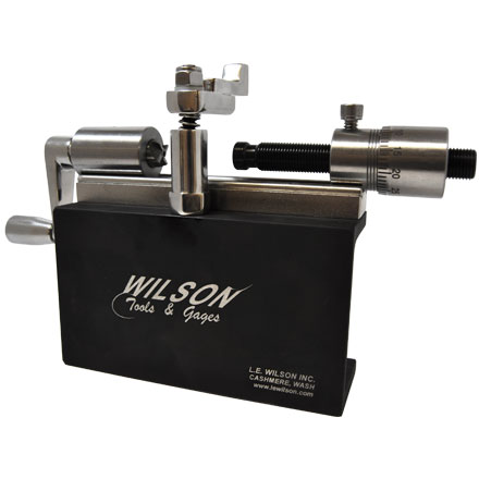 L.E. Wilson Stainless Steel  Micrometer Case Trimmer Kit