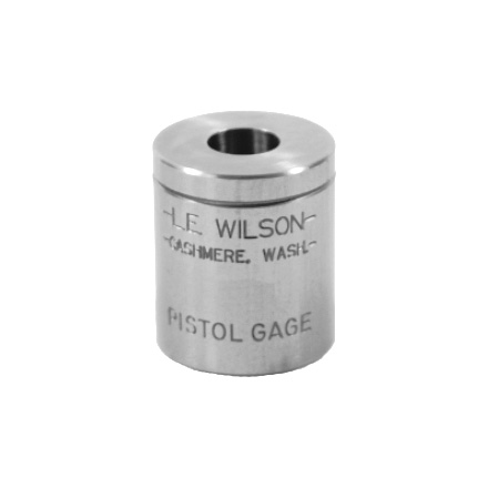 L.E. Wilson Max Pistol Cartridge Gage 38 Super