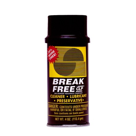 Break-Free Cleaner, Lubricant and Preservative 4 Oz Aerosol