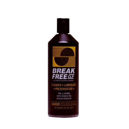 Break-Free Cleaner, Lubricant and Preservative 4 Oz Liquid