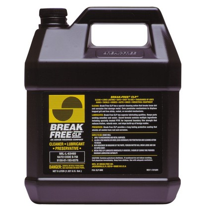 Break-Free Cleaner, Lubricant and Preservative 1 Gallon